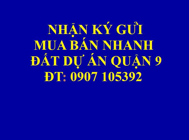Bán nhanh đất dự án Phú Nhuận, phường Phước Long B