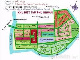 Chính chủ bán đất nền biệt thự Phú Nhuận quận 9, P.PLB, lô B2, dt 14,5x20m